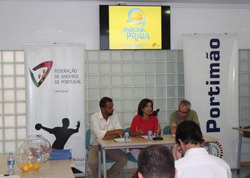 Sorteio Fase Final do Circuito Nacional de Andebol de Praia 2015 - Clube Naval de Portimão