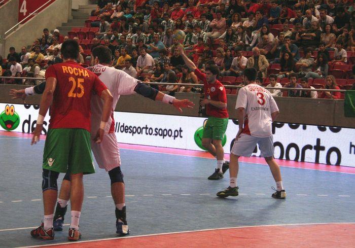 Portugal : Espanha - play off de apuramento ao Campeonato do Mundo Suécia 2011
