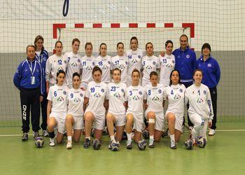 Itália - 3º classificado Taça Latina femininos