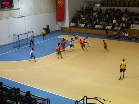 5º Campeonato do Mediterrâneo - Marrocos : Portugal