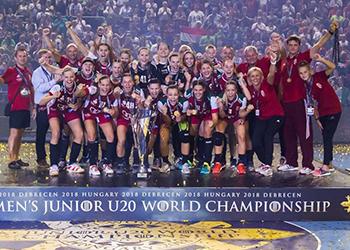 Noruega : Hungria - Mundial Sub20 Femininos - foto: IHF/Anikó Kovács
