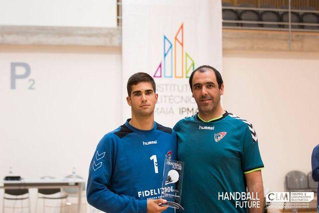 Carlos Oliveira - Melhor Guarda-Redes do Handball Future