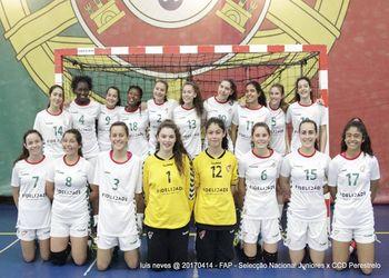 Seleção Nacional Juniores C Femininas 2016-2017 - foto: Luís Neves