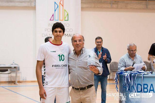 Joel Ribeiro - Melhor Marcador do Handball Future