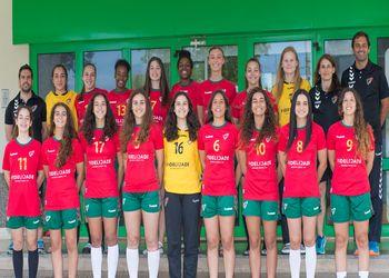 Selecção Nacional Juniores A Femininas 2016-2017
