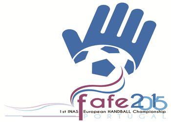 Logo 1º Campeonato da Europa de Andebol - Fafe 2015