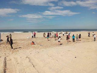 Andebol de Praia - treinos de observação e captação