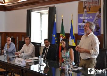 Protocolo em Pinhel - Joaquim Escada