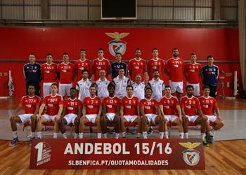 SL Benfica - Foto plantel Andebol 1 - 2015-16