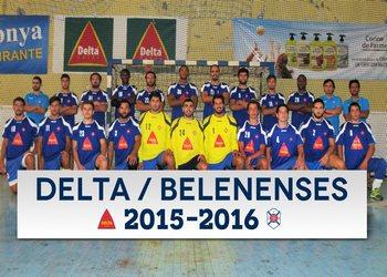Delta Belenenses - Foto plantel Andebol 1 2015-16