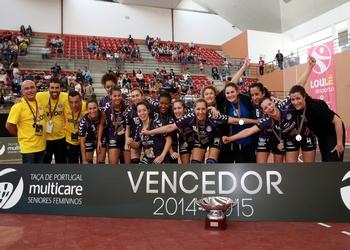 Madeira SAD vencedor Taça Portugal Fem. 2015