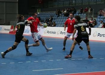 AM Madeira Sad : SL Benfica - Supertaça Andebol Portimão 2010