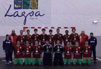 Sel. Nac. Junior B masculina 2011-12