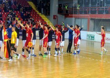 Portugal - Macedónia - qualificação para o Campeonato do Mundo de Sub21 Masculinos