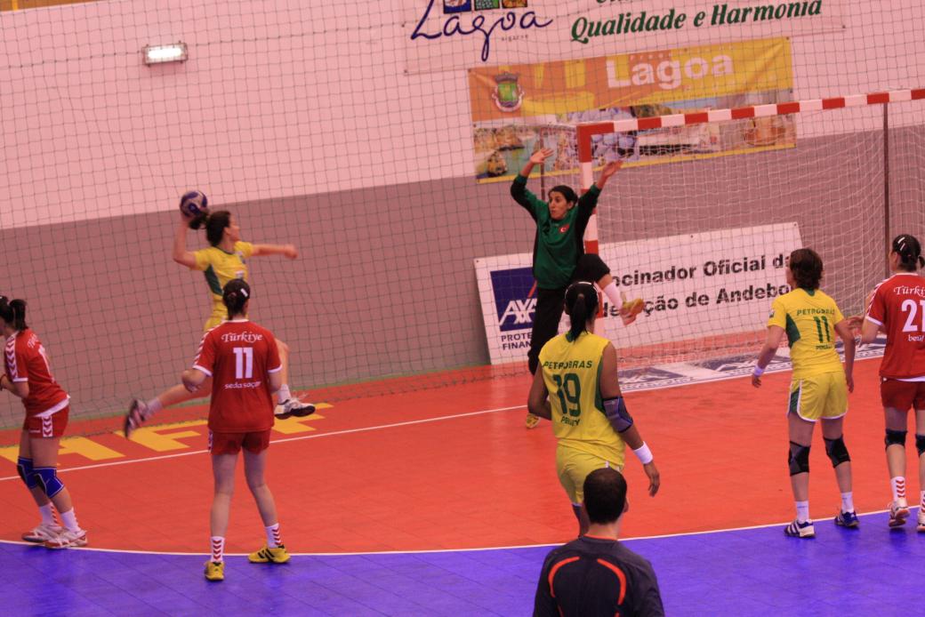 Turquia : Brasil - Torneio Internacional de Lagoa