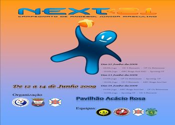 Cartaz Fase Final Next<21 - 12 a 14 Junho, Lisboa
