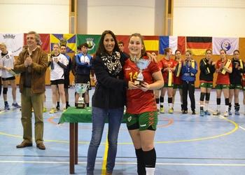 Entrega prémio seleção Portugal sub19 - Torneio Quatro Nações