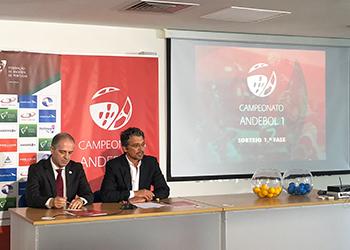 Sorteio - Campeonato Andebol 1 2018-2019 - 1ª Fase (1)