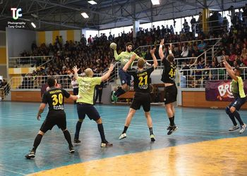 AM Madeira A. Sad : AEK Atenas - Challenge Cup - foto: Tony Cruz Júnior