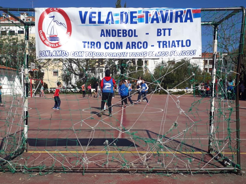 Projeto Andebol nas Escolas - Clube Vela Tavira - 04.04.17
