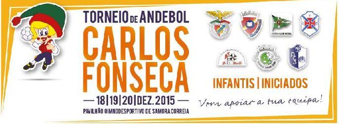 Cartaz Torneio de Andebol Carlos Fonseca 2015