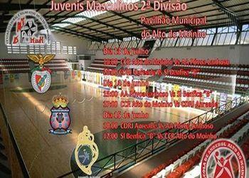 Cartaz Fase Final do Campeonato Nacional de Juvenis Masculinos