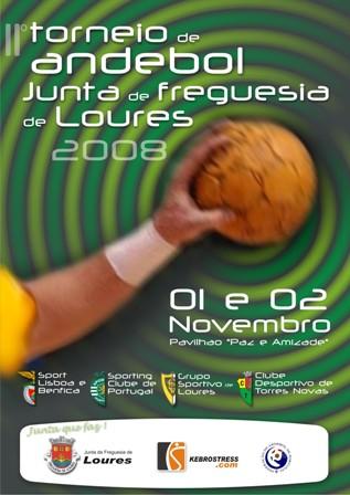 II Torneio de Andebol Junta Freguesia de Loures 2008