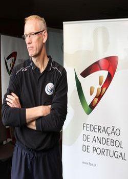 Mats Olsson em Guimarães - véspera jogo com Eslovénia