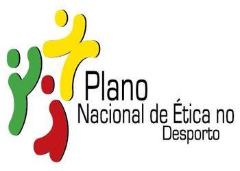 Logo Plano Nacional Ética Desporto