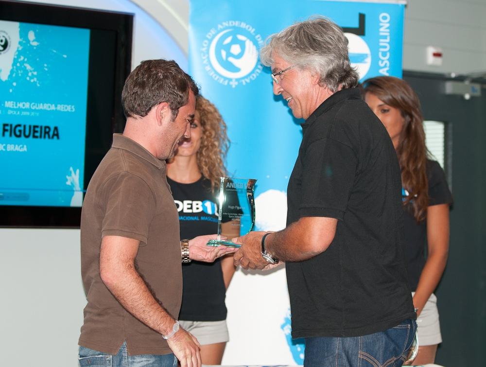 Armando Fernandes recebe prémio Melhor Guarda Redes