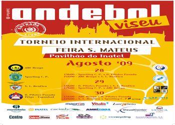 Cartaz Torneio Internacional Feira de S. Mateus