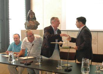 Assinatura de protocolo de desenvolvimento entre a FAP e a VRSA - Ulisses Pereira e Luís Gomes