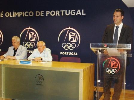 Apresentação Livro Limitações à Liberdade Contratual do Praticante Desportivo - sede do COP, 04.08.2008 20 - Intervenção de Lúcio Correia