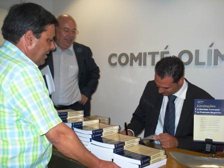 Apresentação Livro Limitações à Liberdade Contratual do Praticante Desportivo - sede do COP, 04.08.2008 23