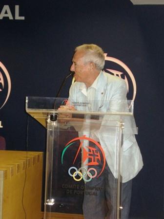 Apresentação Livro Limitações à Liberdade Contratual do Praticante Desportivo - sede do COP, 04.08.2008 7 - Intervenção de Luís Santos