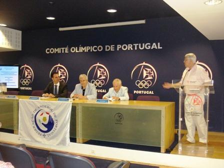 Apresentação Livro Limitações à Liberdade Contratual do Praticante Desportivo - sede do COP, 04.08.2008 12 - Intervenção de Vítor Mota
