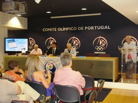 Apresentação Livro Limitações à Liberdade Contratual do Praticante Desportivo - sede do COP, 04.08.2008 10 - Intervenção de Luís Santos
