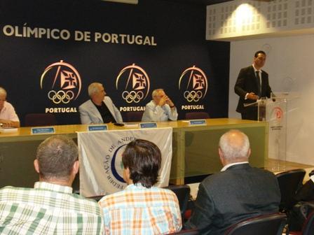 Apresentação Livro Limitações à Liberdade Contratual do Praticante Desportivo - sede do COP, 04.08.2008 17 - Intervenção de Lúcio Correia