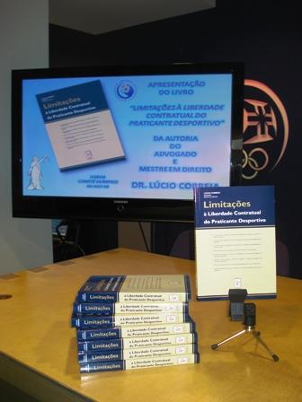 Apresentação Livro Limitações à Liberdade Contratual do Praticante Desportivo - sede do COP, 04.08.2008 3