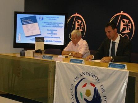 Apresentação Livro Limitações à Liberdade Contratual do Praticante Desportivo - sede do COP, 04.08.2008 6