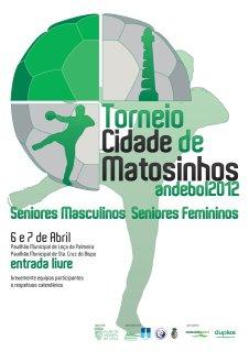 Cartaz IV Torneio Cidade Matosinhos