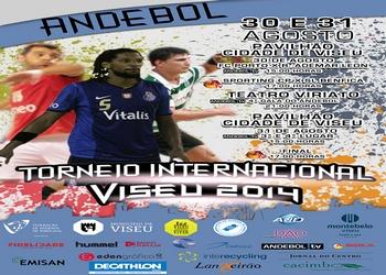 Cartaz Torneio Internacional de Viseu 2014 (ao baixo)