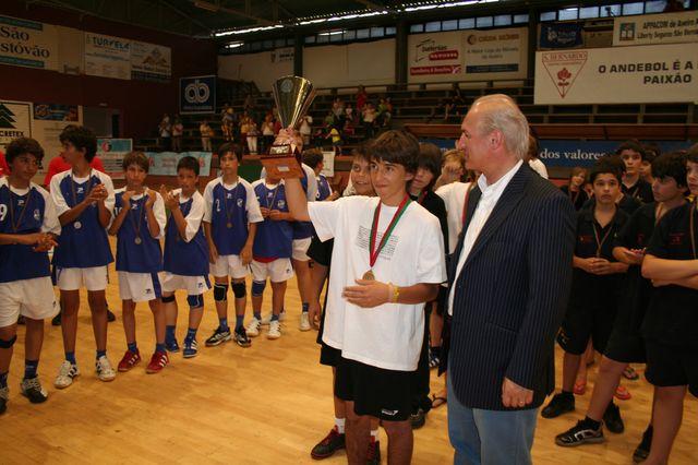 Fase Final Campeonato Nacional Infantis Masculinos - SC Espinho campeão