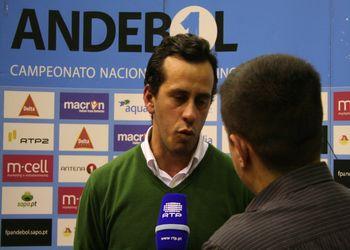 Xico Andebol : Sporting CP - Paulo Faria (Sporting) - Andebol 1