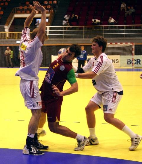 Campeonato Europeu Sub20 Masculino Roménia 2008 - Portugal : República Checa - João Pedro