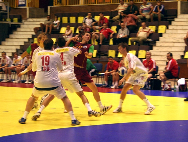 Campeonato Europeu Sub20 Masculino Roménia 2008 - Portugal : República Checa - Pavel Tsiunchyk