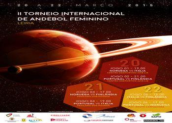 Cartaz II Torneio Internacional de Leiria