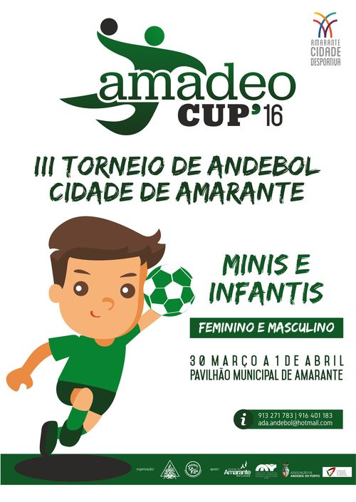 Cartaz Amadeo Cup 16