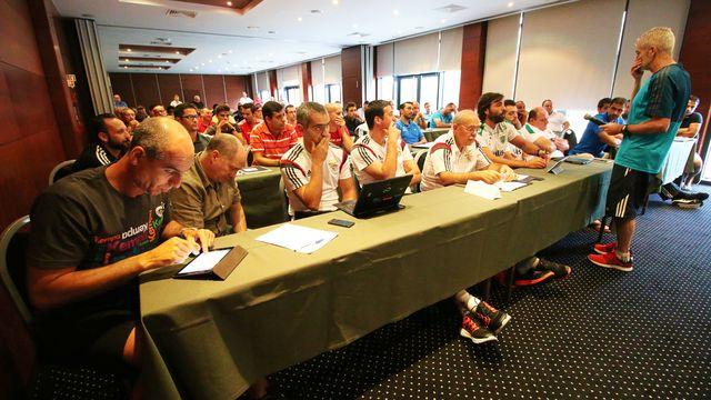 Curso de Formação de Início de Época 2015/2016 do Conselho de Arbitragem - Viseu
