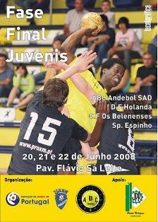 Cartaz Fase Final Campeonato Nacional 1ª Divisão Juvenis Masculinos
